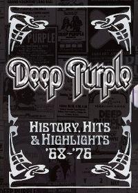 Cover Deep Purple - History, Hits & Highlights '68-76 [DVD]